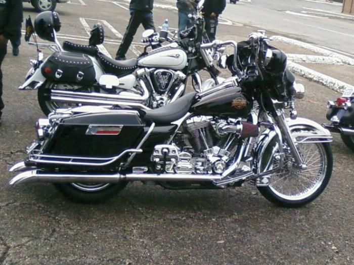 Custom Harley Davidson Electra Glide